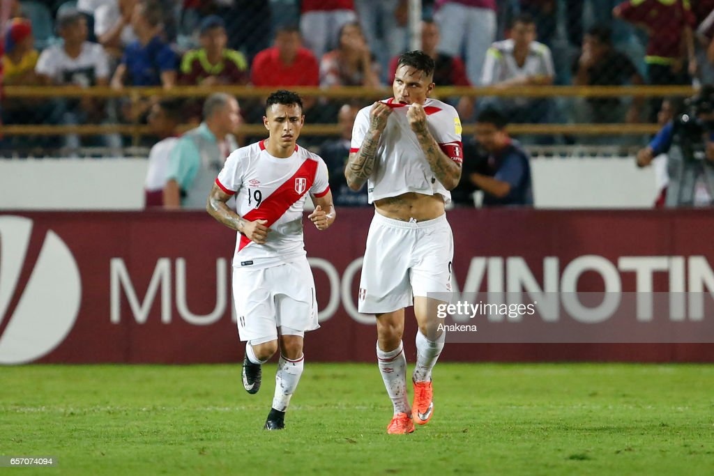 Venezuela v Peru - FIFA 2018 World Cup Qualifiers