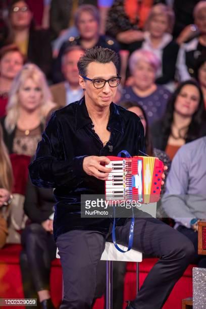 Paolo Jannacci attend 'Vieni da Me' the TV show of Caterina Balivo that turns 40