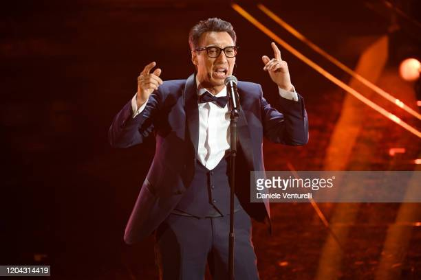 Paolo Jannacci attends the 70° Festival di Sanremo at Teatro Ariston on February 05 2020 in Sanremo Italy