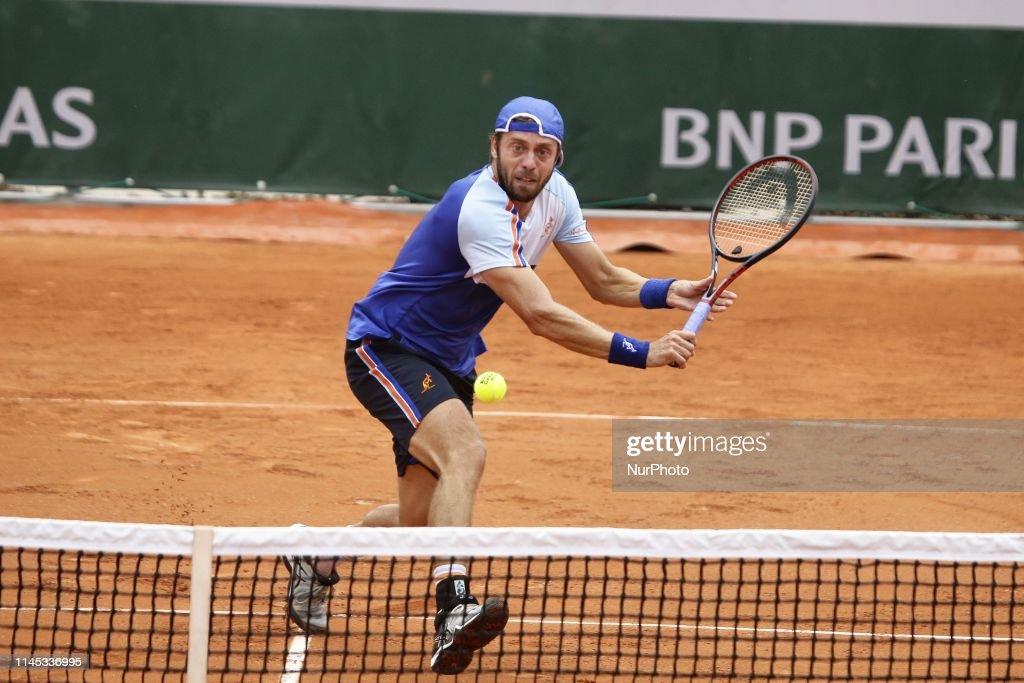 2019 French Open - Qualifying Round : News Photo