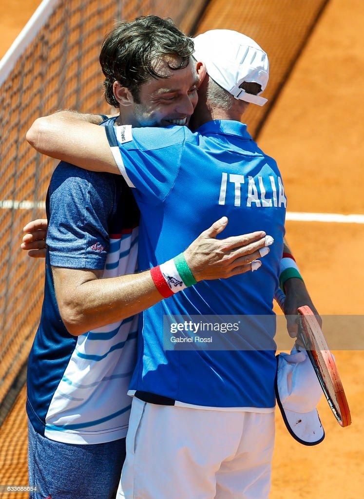 Argentina v Italy - Davis Cup 2017 Day 1