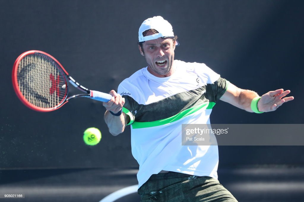 2018 Australian Open - Day 1 : News Photo