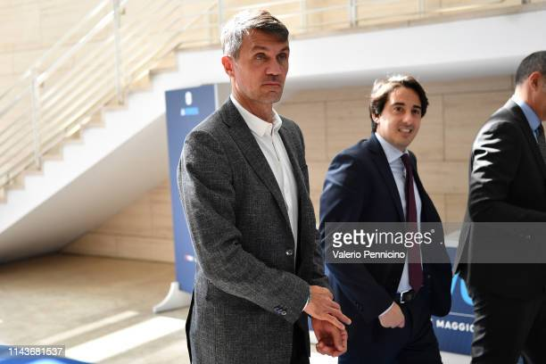 Paolo Maldini attends during the A-Words at Ara Pacis on May 14, 2019 in Rome, Italy.