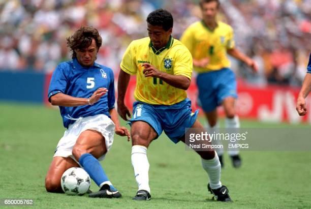 Paolo Maldini, Italy. Romario, Brazil