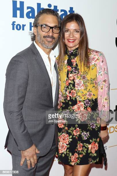 Paolo Mastropietro and actress Jill Hennessy attend the 2017 Samsung Charity Gala at Skylight Clarkson Sq on November 2 2017 in New York City