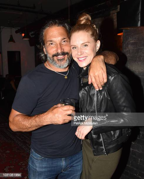 Paolo Mastropietro and Christiane Seidel attend the Nicole Miller Spring 2019 After Party at Acme on September 6 2018 in New York City