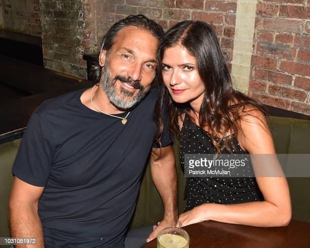 Paolo Mastropietro and Jill Hennessy attend the Nicole Miller Spring 2019 After Party at Acme on September 6 2018 in New York City