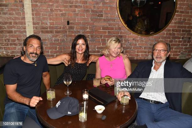 Paolo Mastropietro Jill Hennessy Liliana Cavendish and William Cavendish attend the Nicole Miller Spring 2019 After Party at Acme on September 6 2018...
