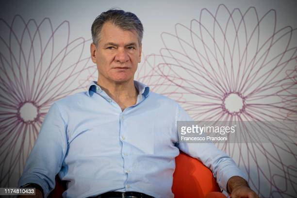 """Paolo Nespoli attends """"Il Tempo Delle Donne"""" Festival in Milan at Triennale Design Museum on September 15, 2019 in Milan, Italy."""