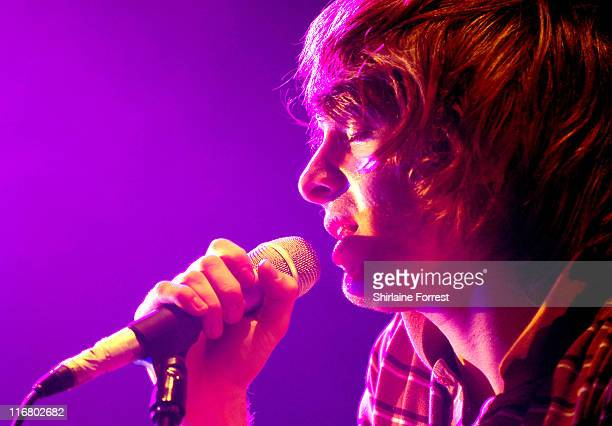 Paolo Nutini during Paolo Nutini in Concert at the Manchester Apollo April 17 2007 at Manchester Apollo in Manchester Great Britain