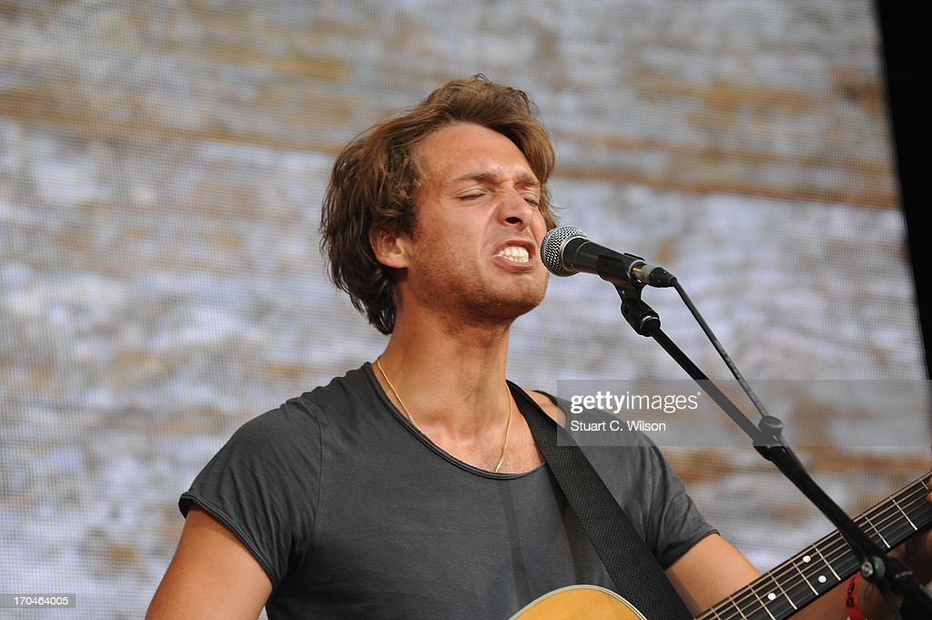 Paolo Nutini performing at agit8 at Tate Modern, ONE's campaign ahead of the G8 at Tate Modern on June 13, 2013 in London, England.
