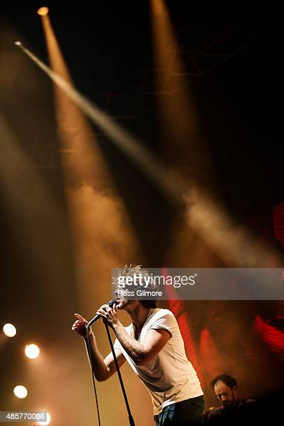 Paolo Nutini performs at Bellahouston Park on August 29 2015 in Glasgow Scotland