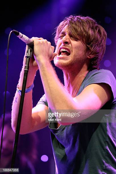 Paolo Nutini performs at Day 2 of Radio 1's Big Weekend on May 23 2010 in Bangor Wales