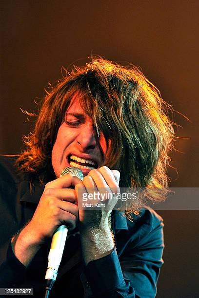 Paolo Nutini performs at Mencap's Little Noise Sessions at the Union Chapel on November 16 2010 in London England