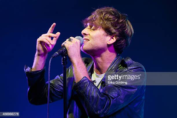Paolo Nutini performs at Stubb's on October 9 2014 in Austin Texas