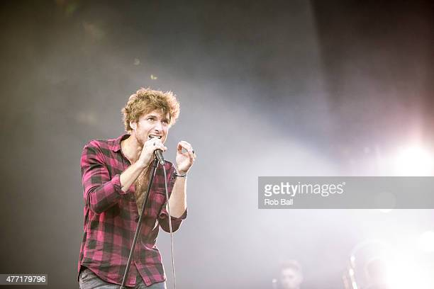 Paolo Nutini performs on Day 4 of the Isle of Wight Festival at Seaclose Park on June 14 2015 in Newport Isle of Wight