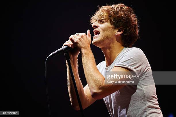 Paolo Nutini performs on stage at Motorpoint Arena on October 25 2014 in Sheffield United Kingdom