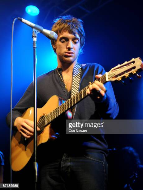 Paolo Nutini performs on stage at the Electric Ballroom on May 12 2009 in London England