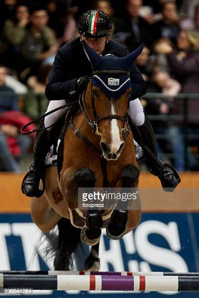 Paolo Paini attends during CSI Casas Novas Horse Jumping Competition on December 10 2017 in A Coruna Spain