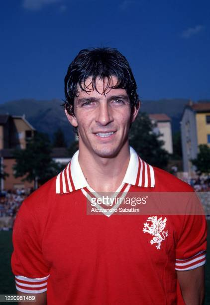 Paolo Rossi of Perugia poses for photo during the Serie A 1979-80, Italy.