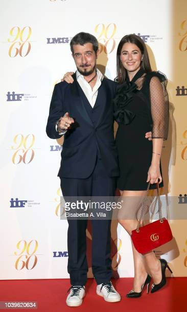 Paolo Ruffini and Diana Del Bufalo attend Fulvio Lucisano Sotto Il Segno Del Cinema event at Maxxi Museum on September 24 2018 in Rome Italy