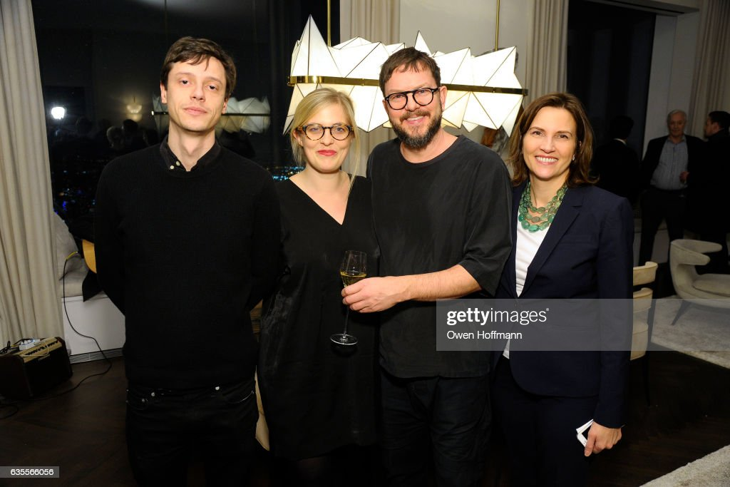 Paolo Sabatini Celine Vaaler Alex P White And Jill Cremer Attend News Photo Getty Images