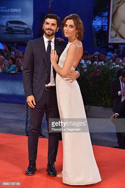 Paolo Sopranzetti and Anna Foglietta attend the Kineo Diamanti Award Ceremony during the 73rd Venice Film Festival on September 4 2016 in Venice Italy