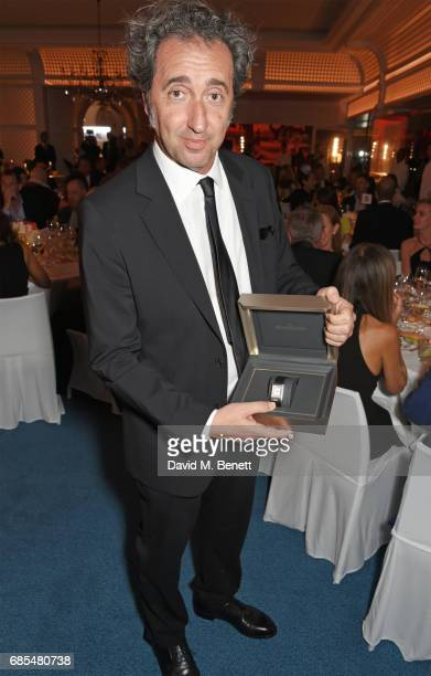Paolo Sorrentino attends The 9th Annual Filmmakers Dinner hosted by Charles Finch and JaegerLeCoultre at Hotel du CapEdenRoc on May 19 2017 in Cap...