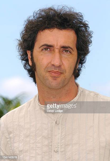 """Paolo Sorrentino during 2006 Cannes Film Festival - """"L'Amico di Famiglia"""" Photocall at Palais des Festival Terrace in Cannes, France."""