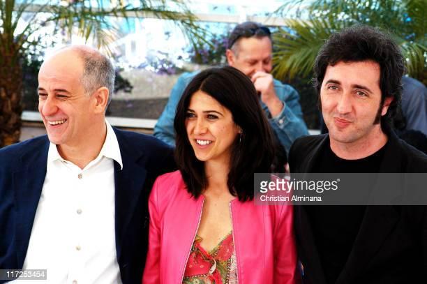 Paolo Sorrentino Olivia Magnani and Tony Servillo