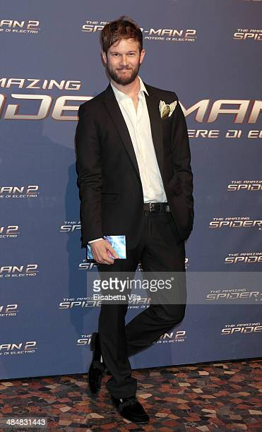 Paolo Stella attends 'The Amazing Spider-Man 2: Rise Of Electro' Rome Premiere at The Space Moderno Cinema on April 14, 2014 in Rome, Italy.