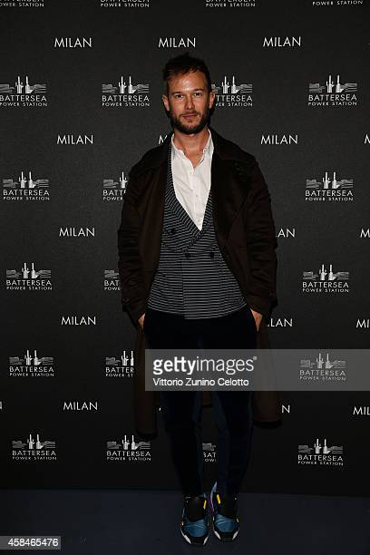 Paolo Stella attends the Battersea Power Station launch party to celebrate the launch of its Global Tour at Magna Pars Suites on November 5 2014 in...