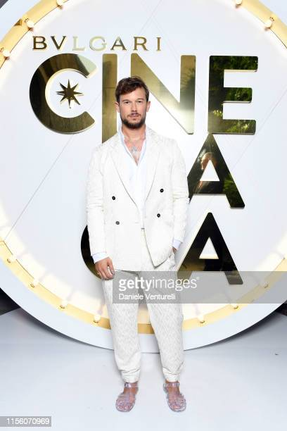 Paolo Stella attends the Bvlgari Hight Jewelry Exhibition on June 13 2019 in Capri Italy
