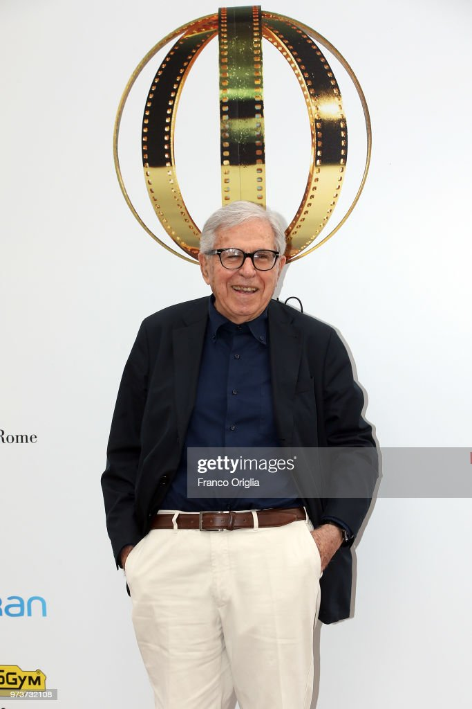 Paolo Taviani attends Globi D'Oro awards ceremony at the Academie de France Villa Medici on June 13, 2018 in Rome, Italy.
