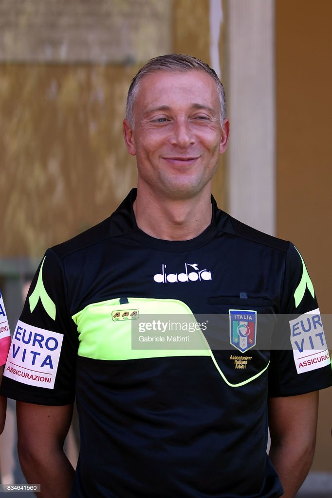 Paolo Valeri with the new uniform for the 2017-2018 season at Coverciano on August 18, 2017 in Florence, Italy.