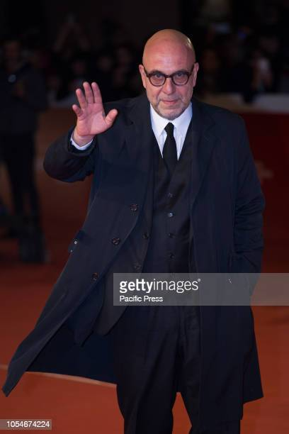 Paolo Virzì walks the red carpet ahead of the 'Notti Magiche' screening during the 13th Rome Film Fest