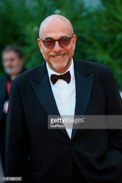 Paolo Virzi walks the red carpet ahead of the closing ceremony of the 76th Venice Film Festival at Sala Grande on September 07 2019 in Venice Italy