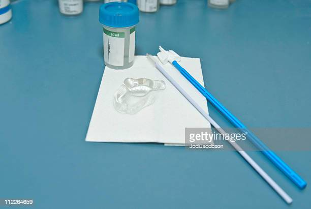 pap smear medical test - pap smear stock photos and pictures