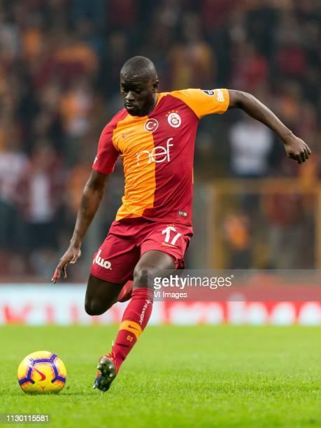 Papa Alioune Badou Ndiaye of Galatasaray SK during the Turkish Spor Toto Super Lig football match between Galatasaray SK and Antalyaspor AS at the...