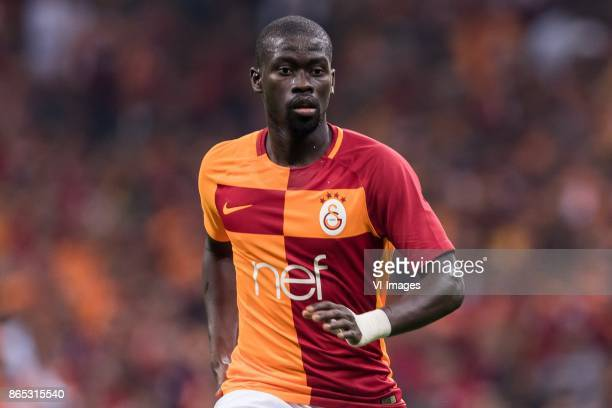 Papa Alioune N'Diaye of Galatasaray SK during the Turkish Spor Toto Super Lig football match between Galatasaray SK and Fenerbahce AS on October 22...