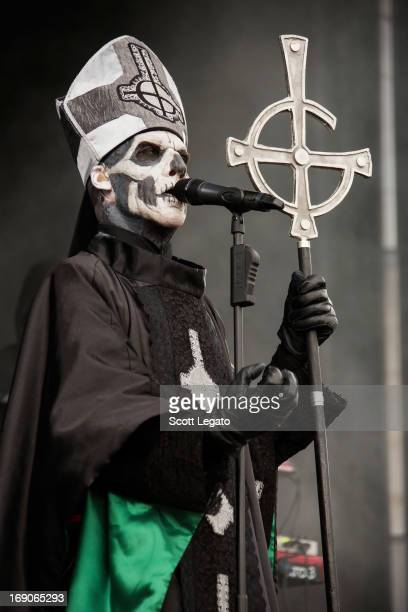 Papa Emeritus II of Ghost performs during 2013 Rock On The Range at Columbus Crew Stadium on May 19, 2013 in Columbus, Ohio.