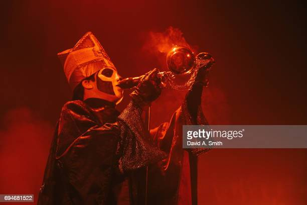 Papa Emeritus III of Ghost performs at The Tabernacle on June 10 2017 in Atlanta Georgia