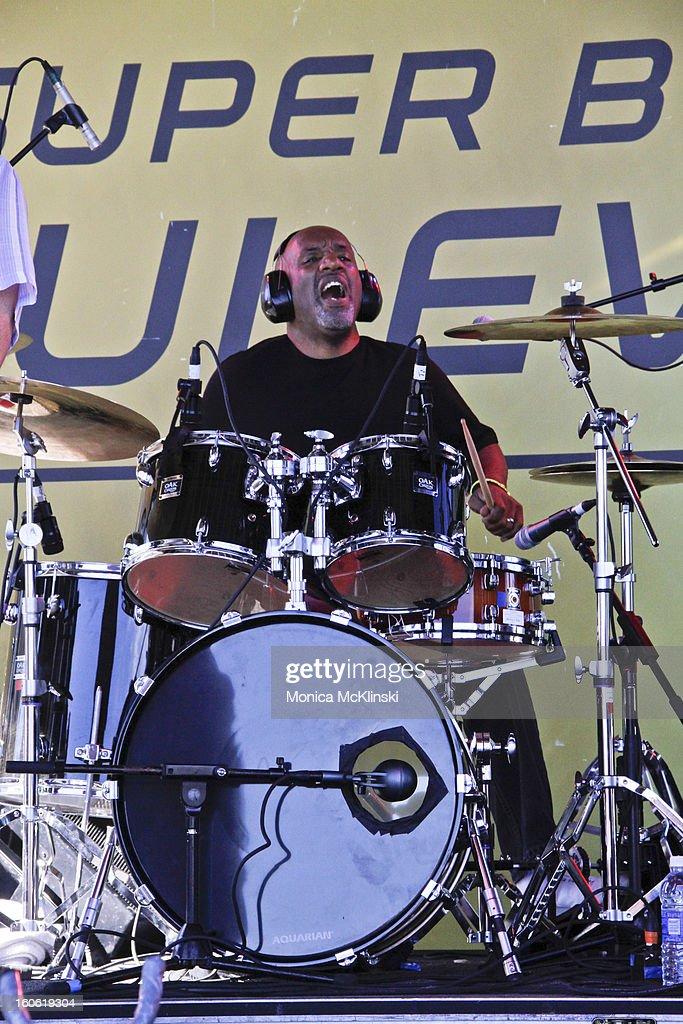 Papa Grows Funk drummer Jeffery