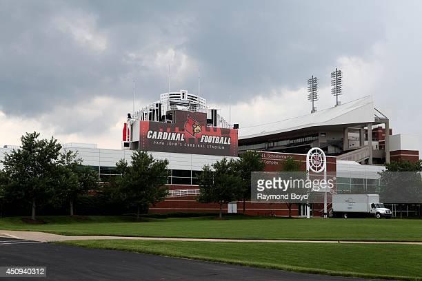 Papa JohnÕs Cardinal Stadium home of the Louisville Cardinals football team on May 30 2014 in Louisville Kentucky