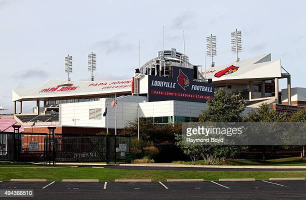 Papa John's Cardinal Stadium home of the Louisville Cardinals football team on October 4 2015 in Louisville Kentucky