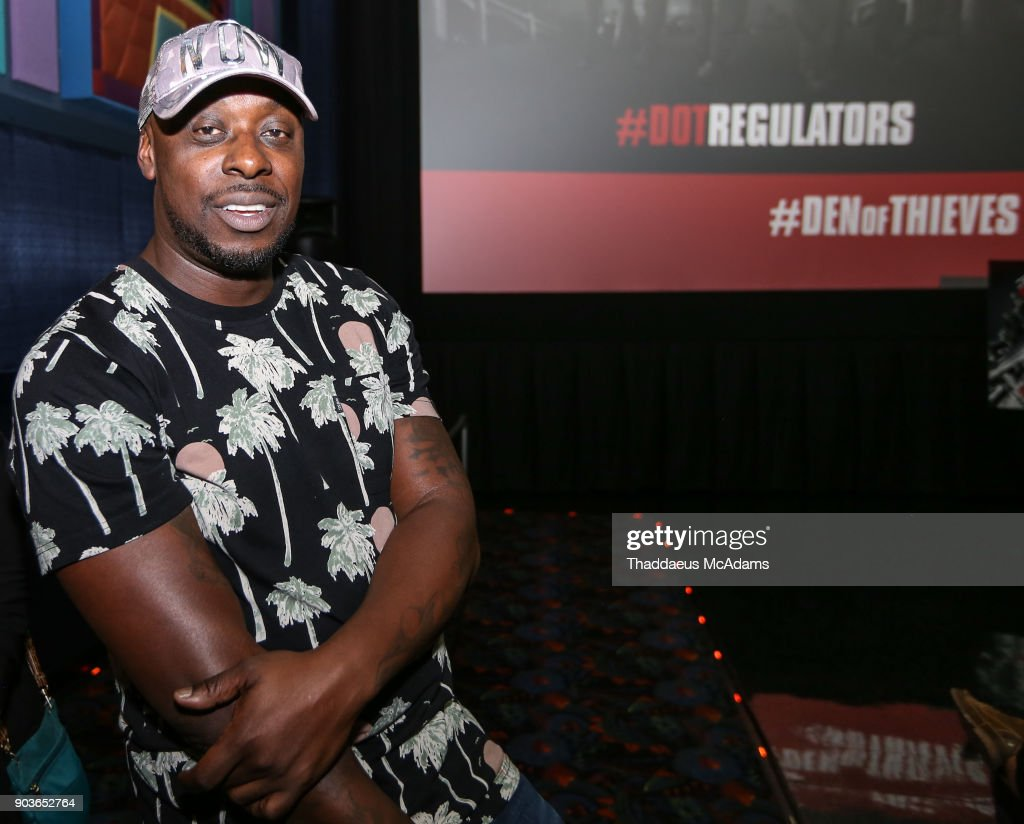Papa Kieth at The Den of Thieves special screening at Regal South Beach on January 10, 2018 in Miami, Florida.