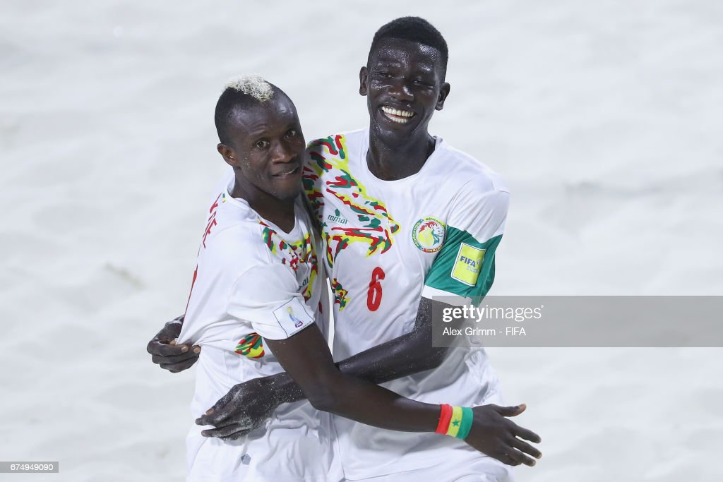 Senegal v Bahamas - FIFA Beach Soccer World Cup Bahamas 2017 : News Photo