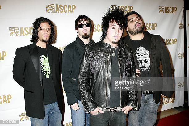 Papa Roach arrives at the 23rd Annual ASCAP Pop Music Awards on May 22 2006 at the Beverly Hilton Hotel in Beverly Hills California