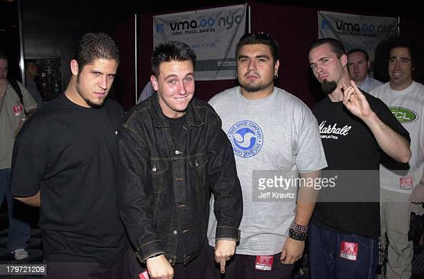 Papa Roach during MTV VMA 2000 Rehearsal at Radio City Music Hall in New York City New York United States
