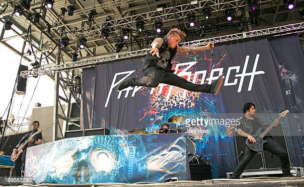 Papa Roach performs during 2013 Rock On The Range at Columbus Crew Stadium on May 19 2013 in Columbus Ohio